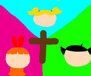 Powerpuff girls are Christian now