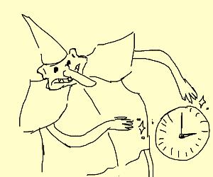 Skidaddle skidoodle wizard curses clock