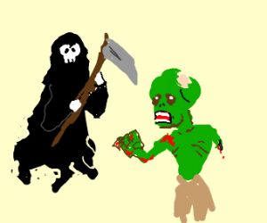 Death and Zombie