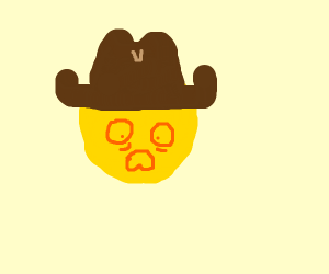 Cowboy questtioning who he is