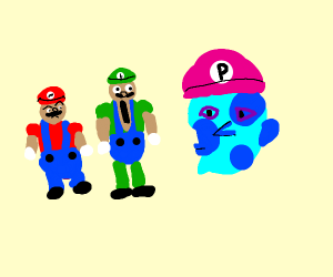 the third Mario brother, Picassio