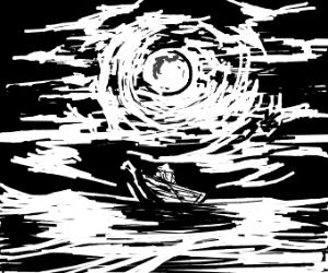 Moonlight boatride