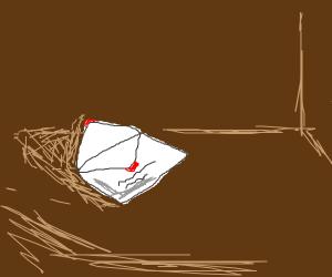 cop encounters forgotten envelope
