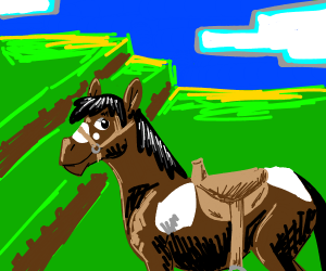 Jeorgen the horse