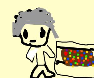 Scientist Baking