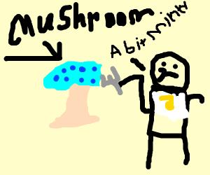 Minty mushroom
