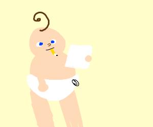 baby draws