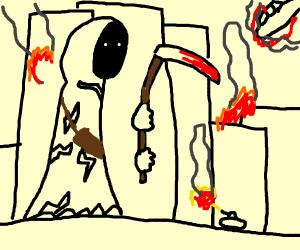 Grim Reaper Exhibit