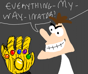Dr. Doofenshmirtz has a magical glove