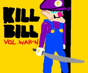 Kill Bill starring Waluigi