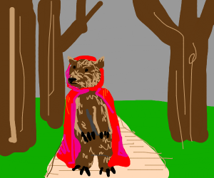 Little Red Riding Bear