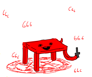 demon but it a table