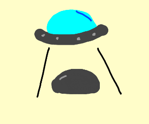 Ufo finding rock