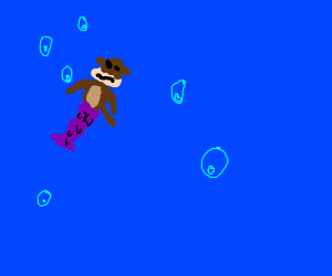 Mermaid Monkey