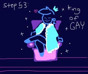 step 52: be gay. be SUPER GAY