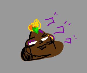 Evil Poop Emoji