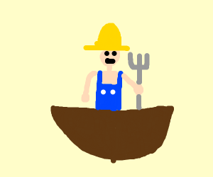 Farmer in a Bowl