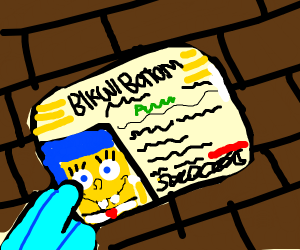 Spongebob's Drivers Licencse