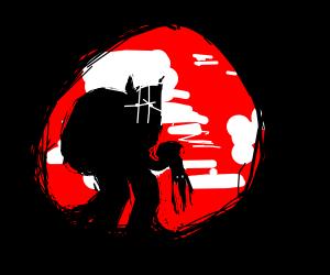 Krampus killed a family