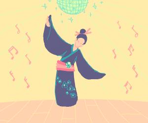 Disco-Kimono