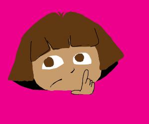 Dora thinking