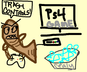 PS3 controls NOT intuitive enough for Seal.