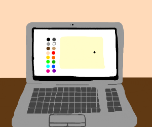 Drawception on a Laptop