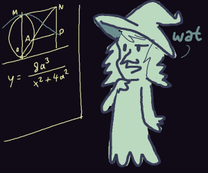 Math confuses ghost-witch