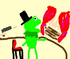 Kermit is Abraham Lincoln