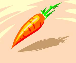 a beautiful carrot