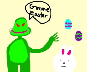 the grinch steals easter