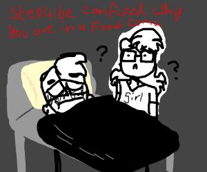 Step 3: Food Coma (Keep it Food coma)
