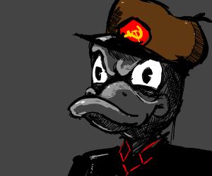Communist Donald Duck
