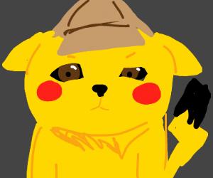 Detective Pikachu reviews his clues