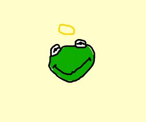 Kermit goes to heaven