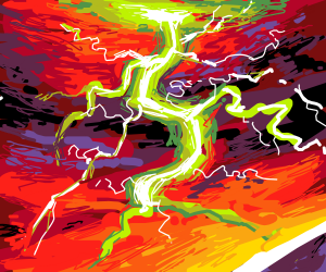 Thunder Storm with lightning