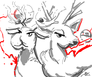Pokeball Reindeer