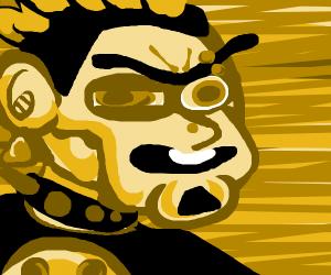 Punk Rocker takes Golden Shower