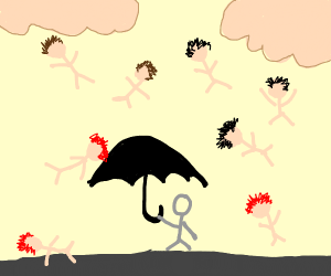 It's raining men