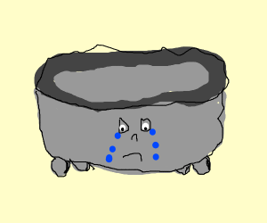 Very sad bathtub