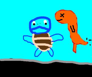 pokemon in auarium