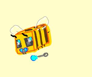 baby bee in minecraft