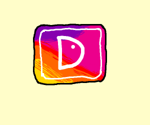 instagram but its drawception