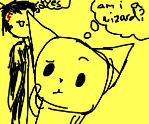 kitteh wonders if he is a wizard