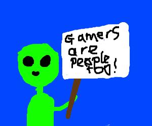 Alien promotes Gamer Rights
