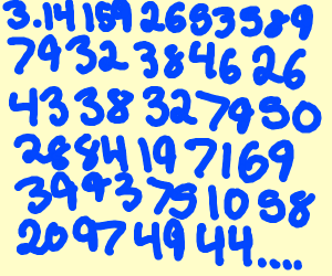 "The digits of pi ""after"" the 3.14159"