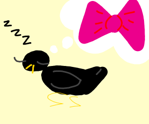 Crow dreaming of a Bow