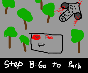 Step 7: Break out of prison w/ plastic spoo