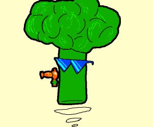 futuristic broccoli