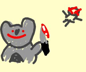 Koala craves death